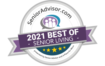Award winner! BEST OF SENIOR LIVING IN AURORA, IL